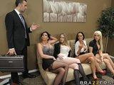Orgy au bureau
