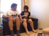 Japonaise baisée devant une caméra cachée